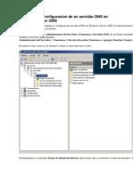 Instalacion y Configuracion de Un Servidor DNS en Windows Server 2008