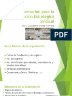 Información para la Acción Estratégica Sindical
