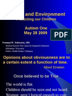 Autism and the Environment Protecting our Children