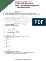 SLC _ OPT Math _ Geometric Progression