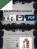 Les Rapports Sociaux