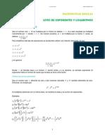 04. Leyes de Exponentes y Logaritmos