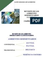 2.4 Ambientes Sedimentarios Clasticos - Ambiente Marino2