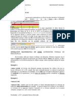 Cuadernillo de Microsoft Excel 2010