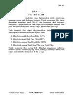 filter pasif untuk mengurangi harmonisa listrik