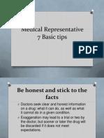 medical representative tips Phipps 01