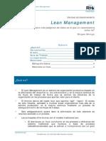 Adelgazamiento Empresarial Lean_cast