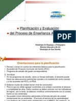 Orientaciones para la planificaciòn