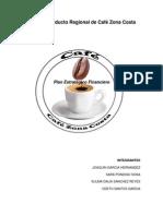 Sistema Producto Regional de Café Zona Costa