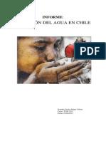 Situacion Del Agua en Chile