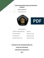 Laporan Praktikum Manajemen Hama Dan Penyakit Terpadu