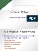 Report Writing Procedures