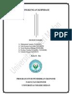 makalah lingkungan koperasi