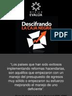 Mexico Evalua-Descifrando La Caja Negra