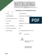 Biodata Beasiswa FMIPA