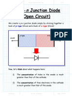 The Pn Junction Diode(Open Ckt)