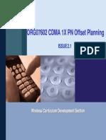 CDMA 1X PN Offset Planning
