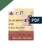 MALBA TAHAN - El Hombre Que Calculaba