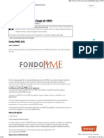 Fondo Pyme 2013