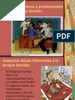 Aspectos éticos y profesionales en la terapia familiar