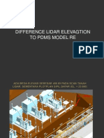 Difference Lidar & Pdms