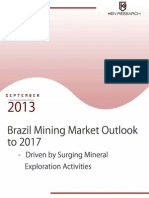 Brazil Mining Market Outlook to 20172