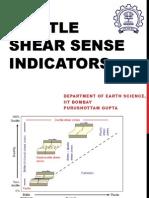 Brittle Shear Sense Indicators