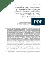 OrtegaLópez.MujerDiscursoAutoritarismoFascismo.1914-1936