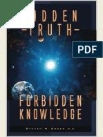 Hidden Truth Forbidden Knowledge Steven M. Greer
