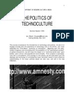 The Politics of Technoculture