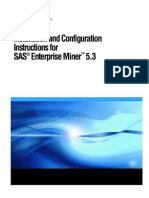 Installation and configuration - SAS Enterprise Miner