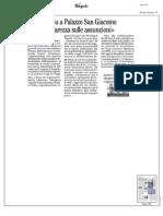 Rassegna Stampa 16.11.2013
