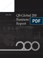 Qs Global200 Business Schools Report 2013
