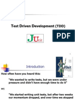 JUnit Test Driven Development