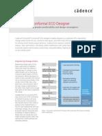 Conformal ECO flow