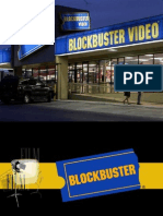 Blockbuster - Final Presentation Theme and Format