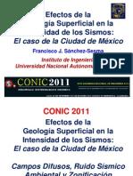 CONIC2011 Efectos Geologia Superficial Short