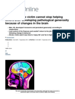 Brazilian Stroke Victim Cannot Stop Helping Others After Developing Pathological Generosity Because of Changes in the Brain _ Mail Online