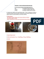 new types of reactions lab