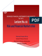 Lecture No 02 SlidLecture No. 02_ Risk and Financial Crisies