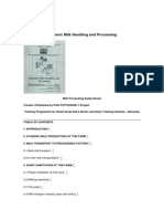 Hygienic Milk Handling and Processing by FAO