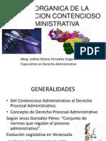 Ley Organica de La Jurisdiccion Contencioso Administrativa