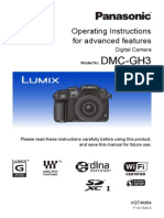 Panasonic GH3 User Manual