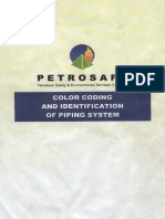 PETROSAFE - Color Coding for piping system