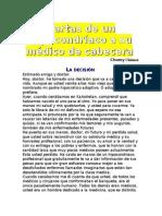 CHUMEZ CHUMY - Cartas de Un Hipocondriaco a Su Medico de Cabecera