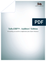 Forms and Dashboard in TallyERP 9 Booklet