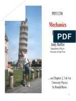 PHY1023H Buffler Mechanics A