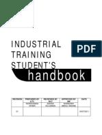 Industrial Training Student Handbook