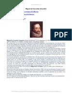 Miguel Cervantes Saavedra Literatura Del Barroco