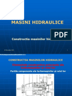 Curs 3 MASINI HIDRAULICE